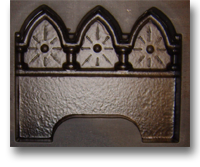 Gothic Edging Mould - Wetcast ABS Moulds - Curbs and Edging